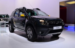 Dacia Duster Air показали в Париже
