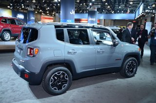 Jeep Renegade был преобразован тюнерами