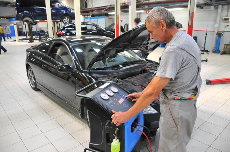 Кондиционер автомобильный ремонт своими руками