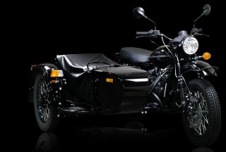 Создан мотоцикл Ural Dark Force Limited Edition