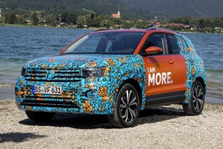 Новый Volkswagen T-Cross будет представлен в начале ноября