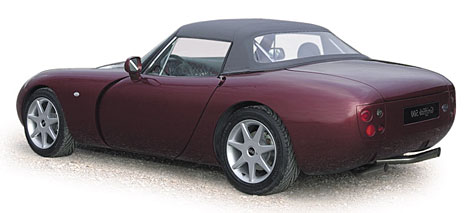 TVR Griffith 500 - эксцентричный американец